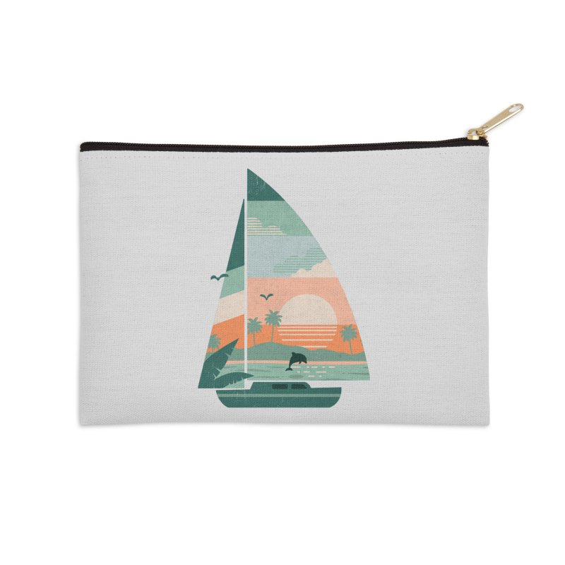 Set Sail Accessories Zip Pouch by The Child's Artist Shop