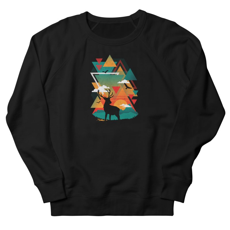 New Ridges Men's Sweatshirt by The Child's Artist Shop