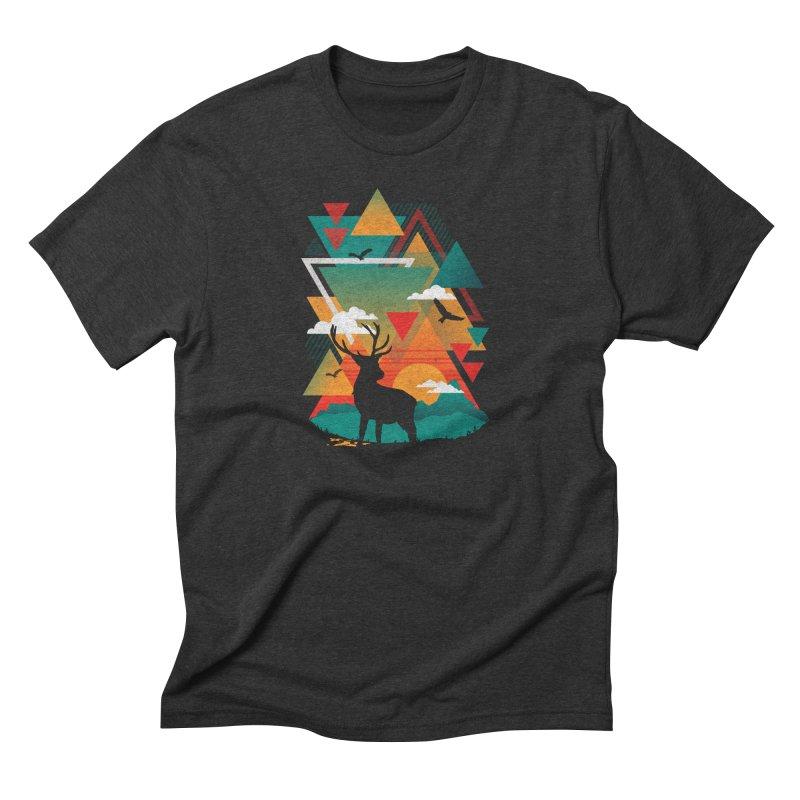 New Ridges Men's Triblend T-shirt by The Child's Artist Shop