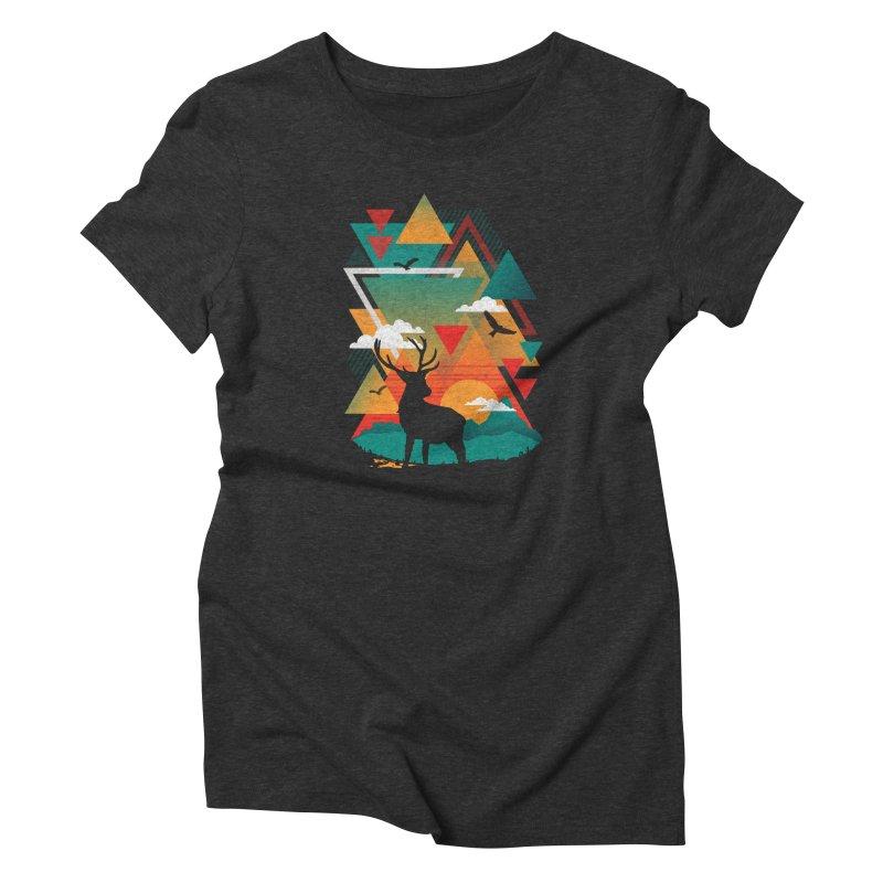 New Ridges Women's Triblend T-Shirt by The Child's Artist Shop