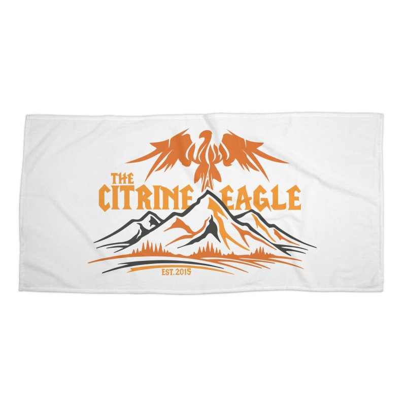 The Citrine Eagle - Mountain Collection I Accessories Beach Towel by The Citrine Eagle Shop