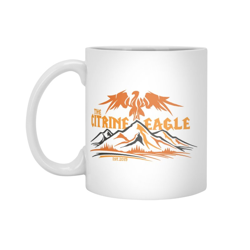 The Citrine Eagle - Mountain Collection I Accessories Mug by The Citrine Eagle Shop