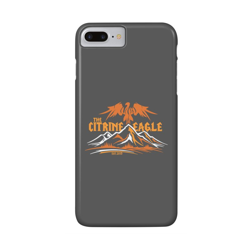 The Citrine Eagle - Mountain Collection I Accessories Phone Case by The Citrine Eagle Shop