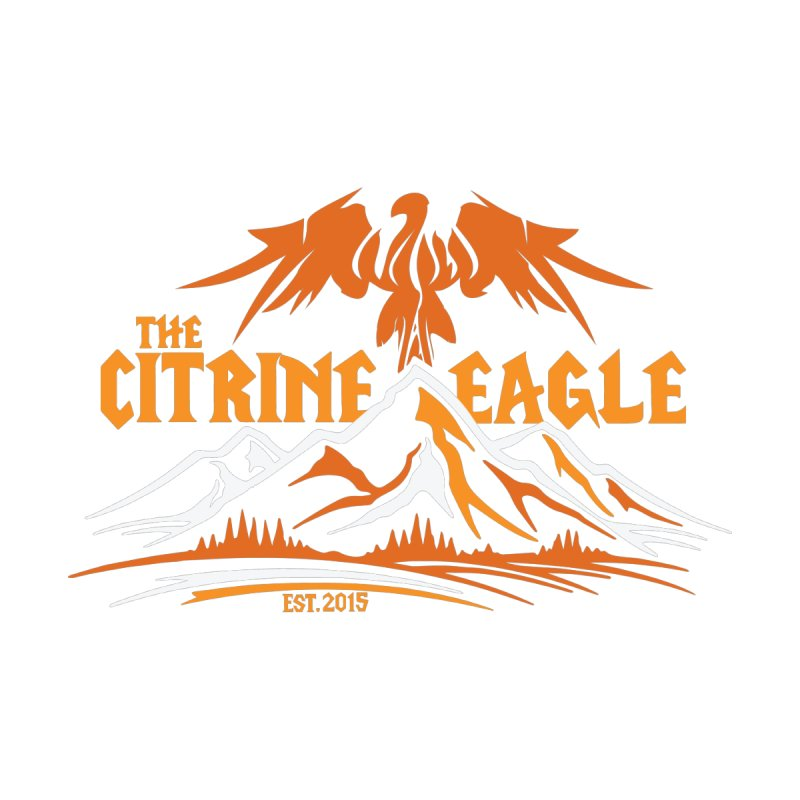 The Citrine Eagle - Mountain Collection I Men's Sweatshirt by The Citrine Eagle Shop
