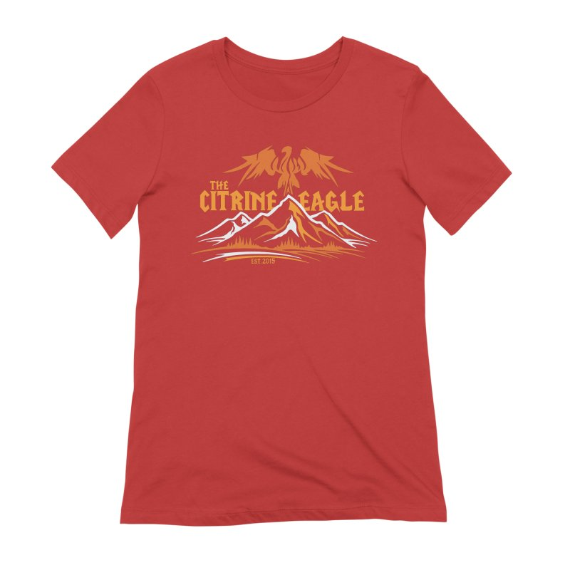 The Citrine Eagle - Mountain Collection I Women's T-Shirt by The Citrine Eagle Shop