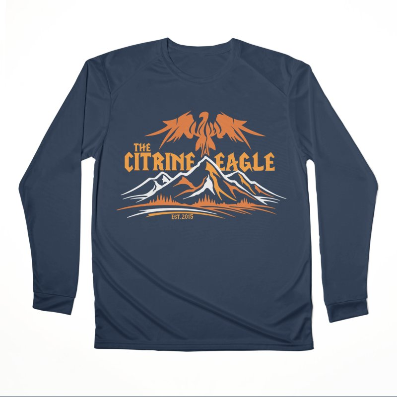 The Citrine Eagle - Mountain Collection I Men's Performance Longsleeve T-Shirt by The Citrine Eagle Shop