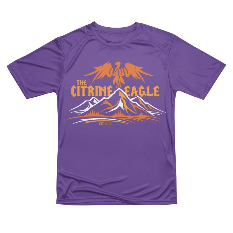 The Citrine Eagle - Mountain Collection I Men's Performance T-Shirt by The Citrine Eagle Shop