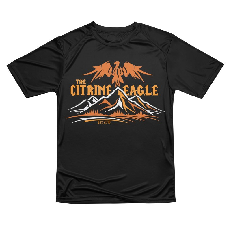 The Citrine Eagle - Mountain Collection I Women's Performance Unisex T-Shirt by The Citrine Eagle Shop