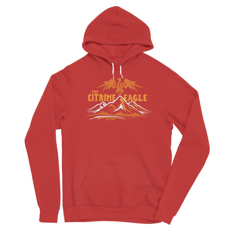 The Citrine Eagle - Mountain Collection I Men's Pullover Hoody by The Citrine Eagle Shop