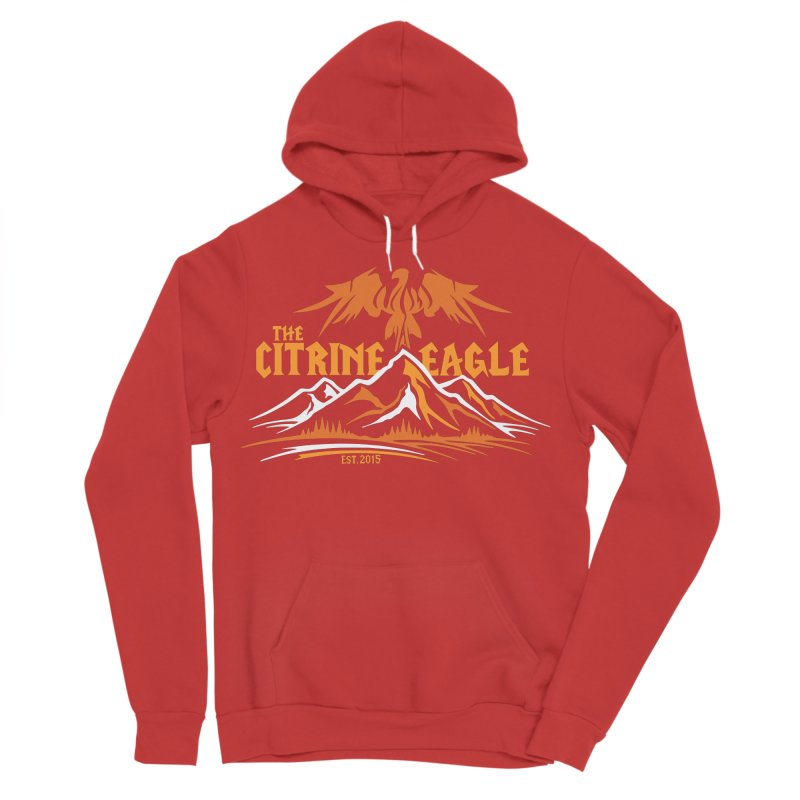 The Citrine Eagle - Mountain Collection I Women's Sponge Fleece Pullover Hoody by The Citrine Eagle Shop