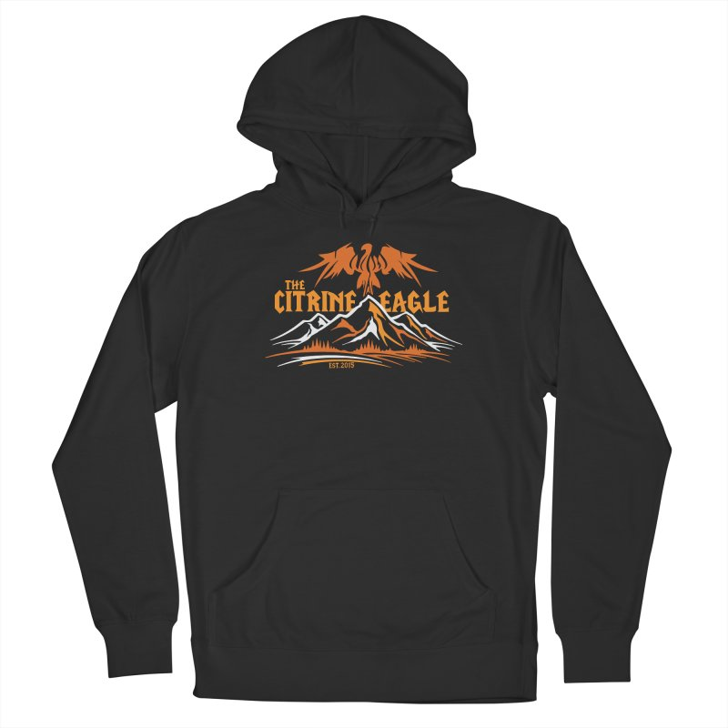 The Citrine Eagle - Mountain Collection I Women's Pullover Hoody by The Citrine Eagle Shop