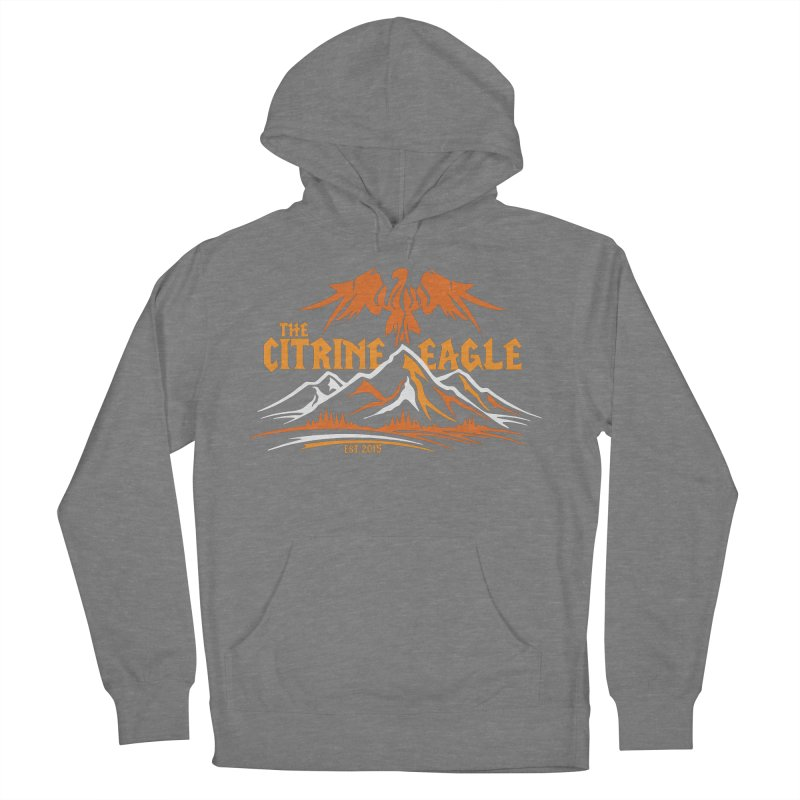 The Citrine Eagle - Mountain Collection I Women's French Terry Pullover Hoody by The Citrine Eagle Shop