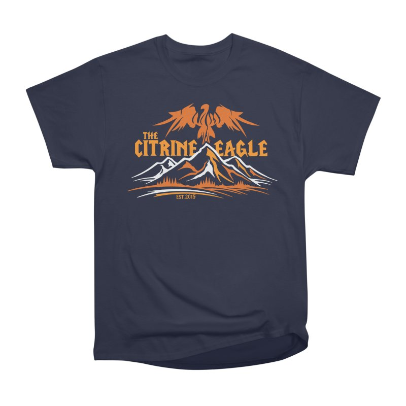 The Citrine Eagle - Mountain Collection I Women's Heavyweight Unisex T-Shirt by The Citrine Eagle Shop