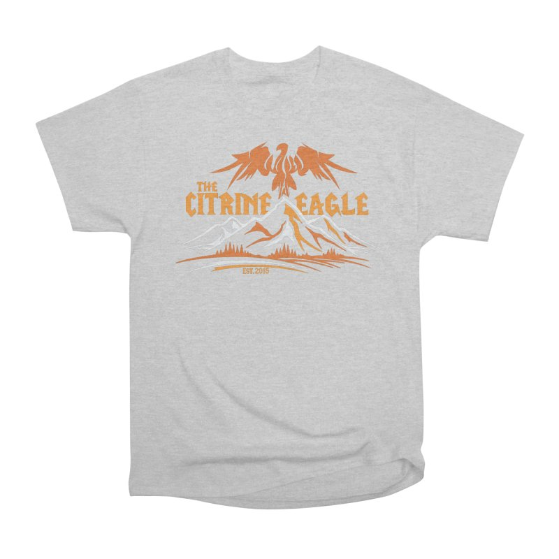 The Citrine Eagle - Mountain Collection I Men's T-Shirt by The Citrine Eagle Shop