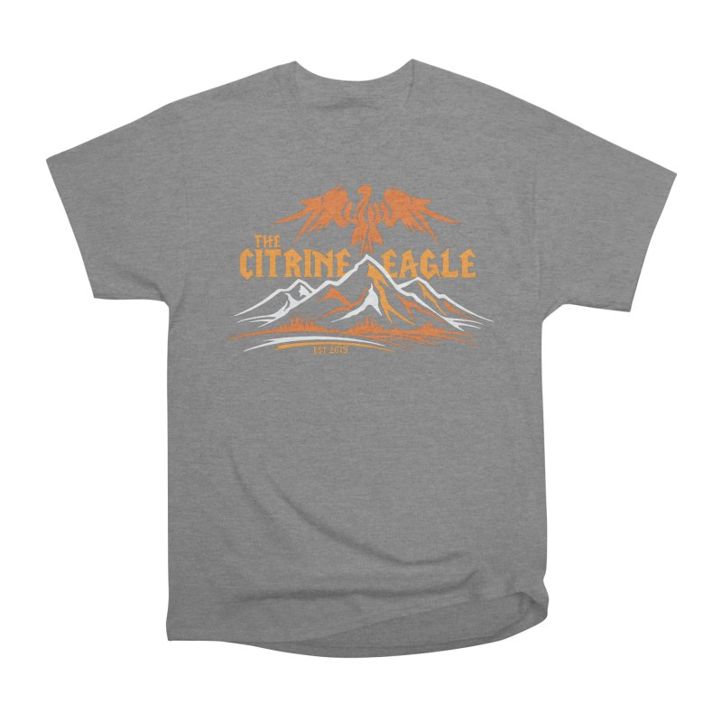 The Citrine Eagle - Mountain Collection I Men's Heavyweight T-Shirt by The Citrine Eagle Shop