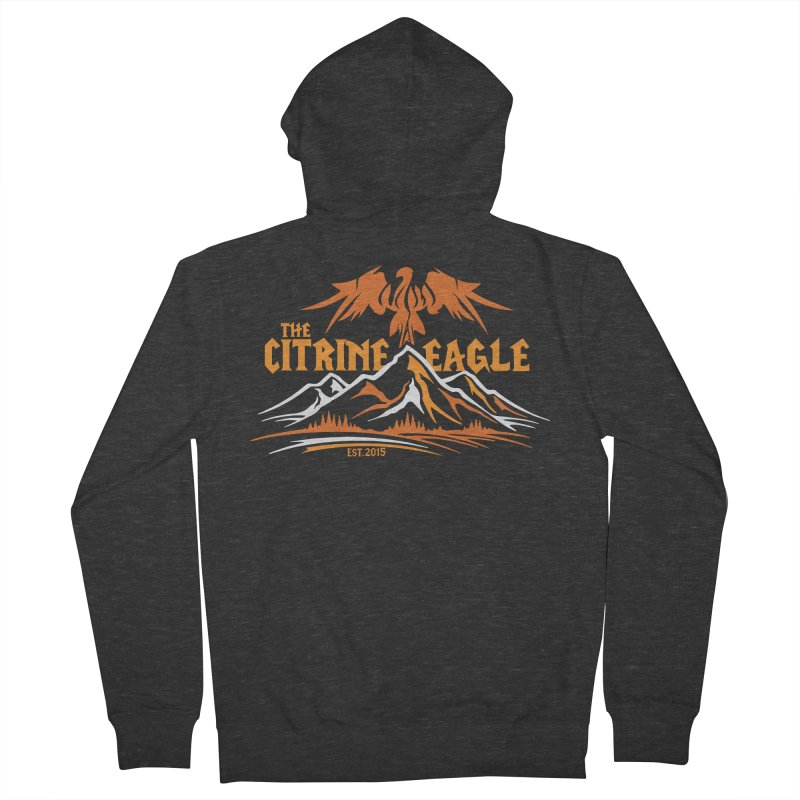 The Citrine Eagle - Mountain Collection I Women's French Terry Zip-Up Hoody by The Citrine Eagle Shop