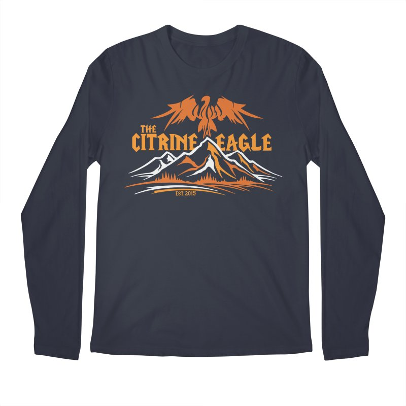 The Citrine Eagle - Mountain Collection I Men's Regular Longsleeve T-Shirt by The Citrine Eagle Shop