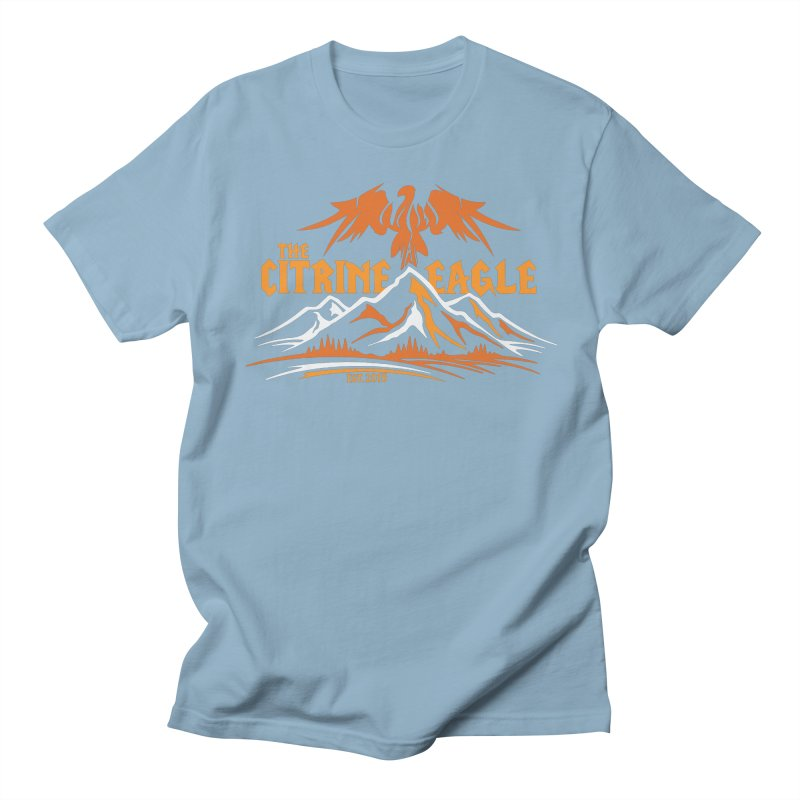 The Citrine Eagle - Mountain Collection I Men's Regular T-Shirt by The Citrine Eagle Shop