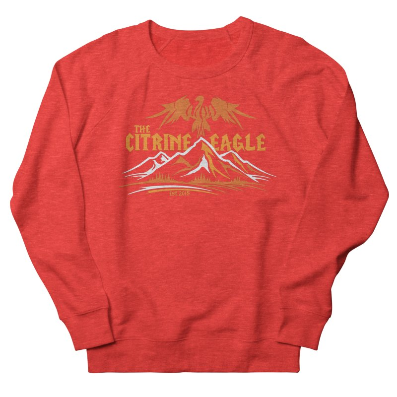 The Citrine Eagle - Mountain Collection I Women's Sweatshirt by The Citrine Eagle Shop