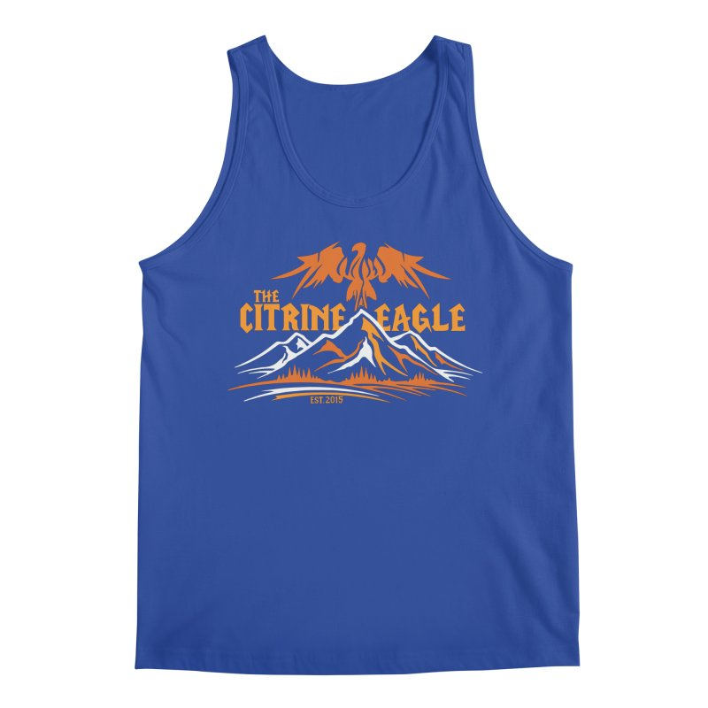 The Citrine Eagle - Mountain Collection I Men's Tank by The Citrine Eagle Shop
