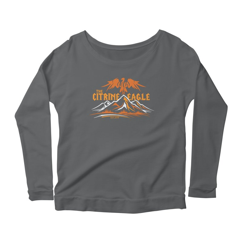 The Citrine Eagle - Mountain Collection I Women's Longsleeve T-Shirt by The Citrine Eagle Shop