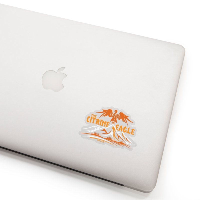 The Citrine Eagle - Mountain Collection I Accessories Sticker by The Citrine Eagle Shop