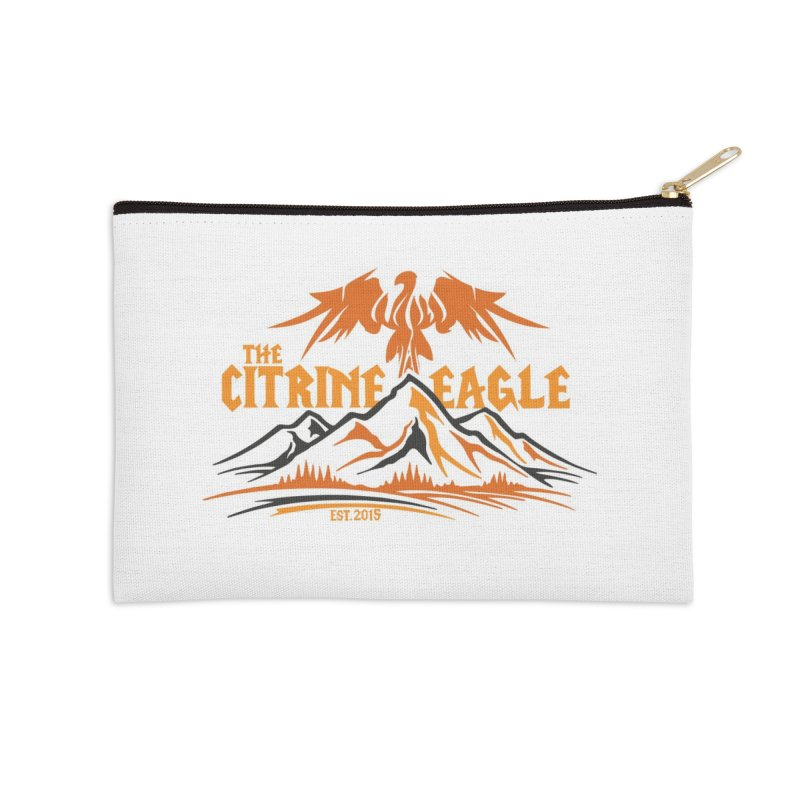 The Citrine Eagle - Mountain Collection I Accessories Zip Pouch by The Citrine Eagle Shop