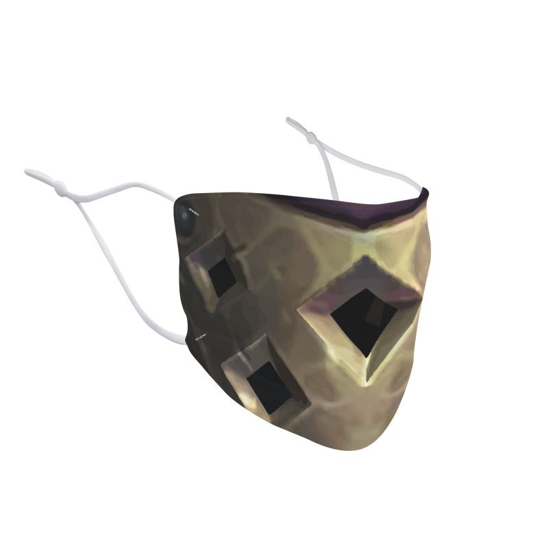 """The """"Shindo"""" Citrine Eagle Mask Accessories Face Mask by The Citrine Eagle Shop"""