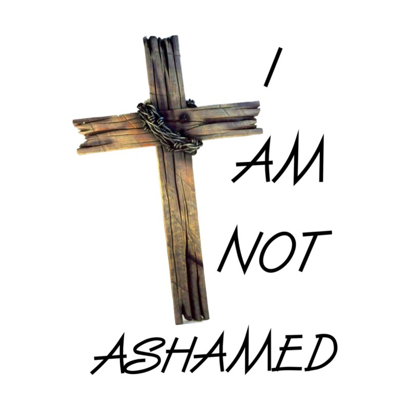 Not Ashamed Accessories Sticker by theclearword's Artist Shop