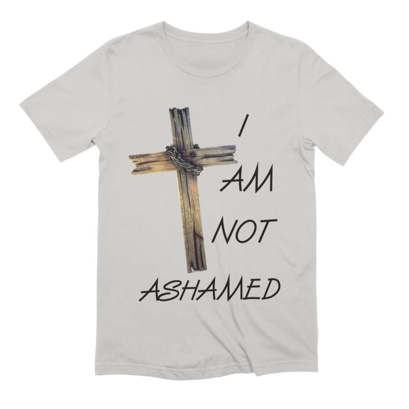 Not Ashamed Men's Extra Soft T-Shirt by theclearword's Artist Shop