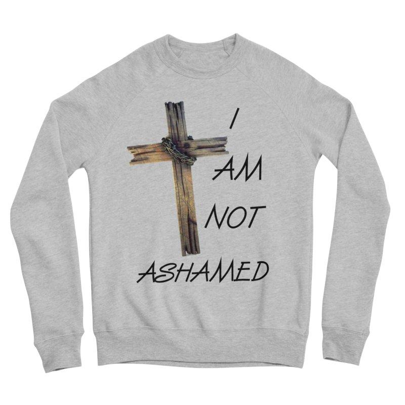 Not Ashamed Men's Sponge Fleece Sweatshirt by theclearword's Artist Shop