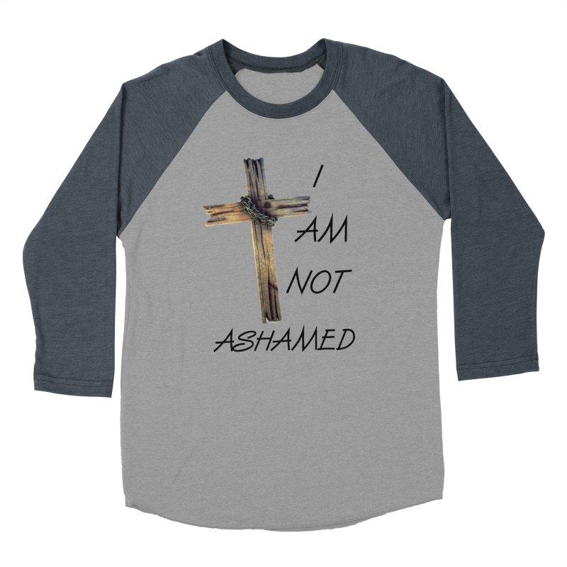 Not Ashamed Men's Longsleeve T-Shirt by theclearword's Artist Shop