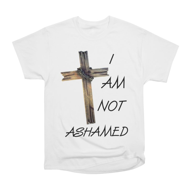 Not Ashamed Men's T-Shirt by theclearword's Artist Shop