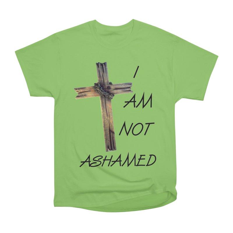 Not Ashamed Men's Heavyweight T-Shirt by theclearword's Artist Shop