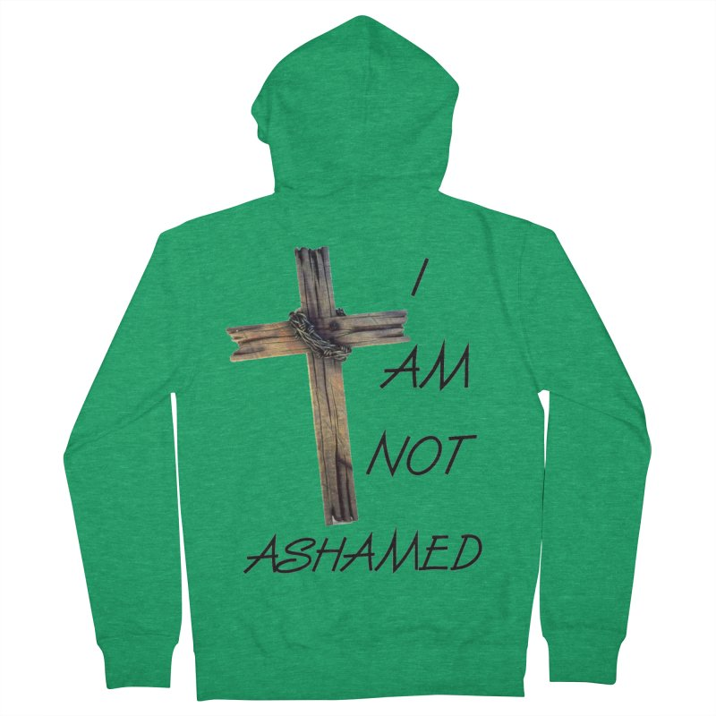 Not Ashamed Women's Zip-Up Hoody by theclearword's Artist Shop