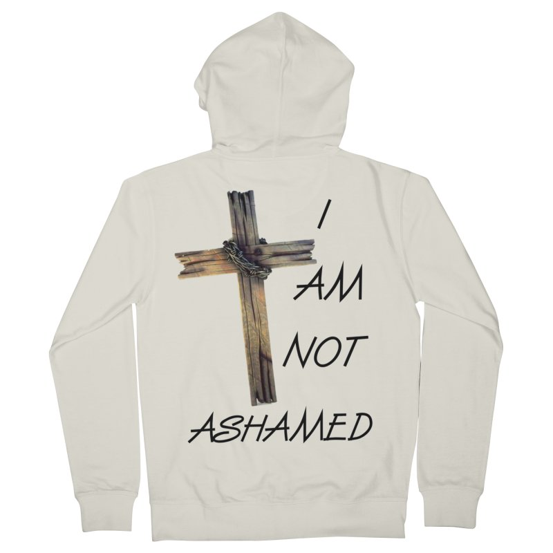 Not Ashamed Men's Zip-Up Hoody by theclearword's Artist Shop