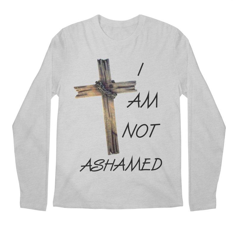 Not Ashamed Men's Regular Longsleeve T-Shirt by theclearword's Artist Shop