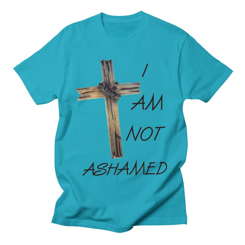 Not Ashamed Men's Regular T-Shirt by theclearword's Artist Shop