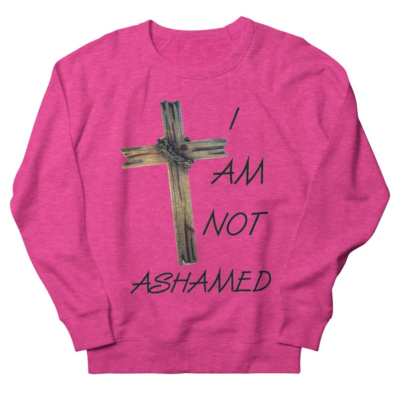 Not Ashamed Men's Sweatshirt by theclearword's Artist Shop