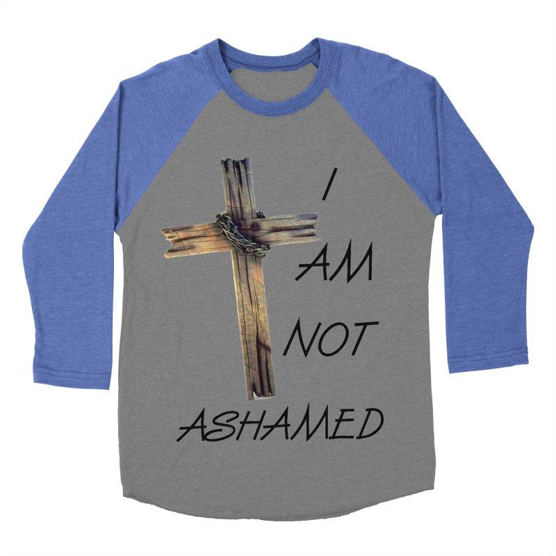Not Ashamed Women's Baseball Triblend Longsleeve T-Shirt by theclearword's Artist Shop