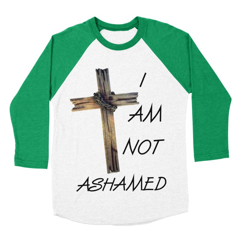 Not Ashamed Men's Baseball Triblend Longsleeve T-Shirt by theclearword's Artist Shop