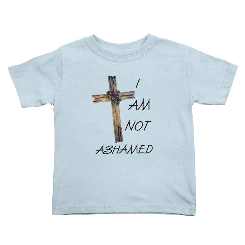 Not Ashamed Kids Toddler T-Shirt by theclearword's Artist Shop
