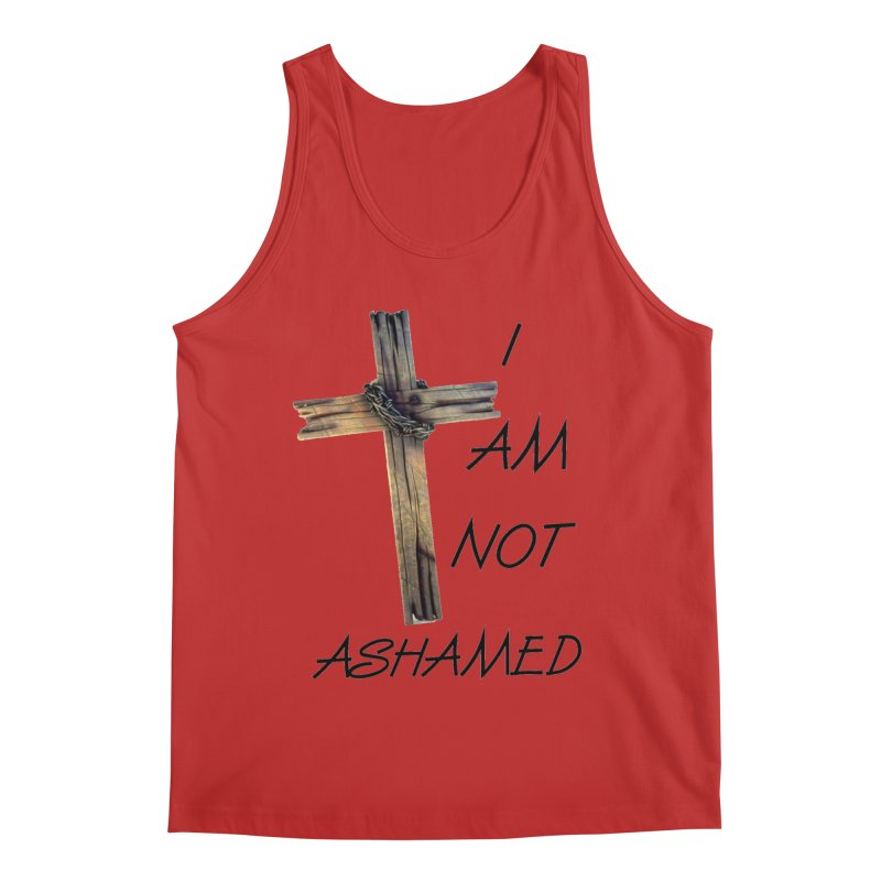 Not Ashamed Men's Regular Tank by theclearword's Artist Shop