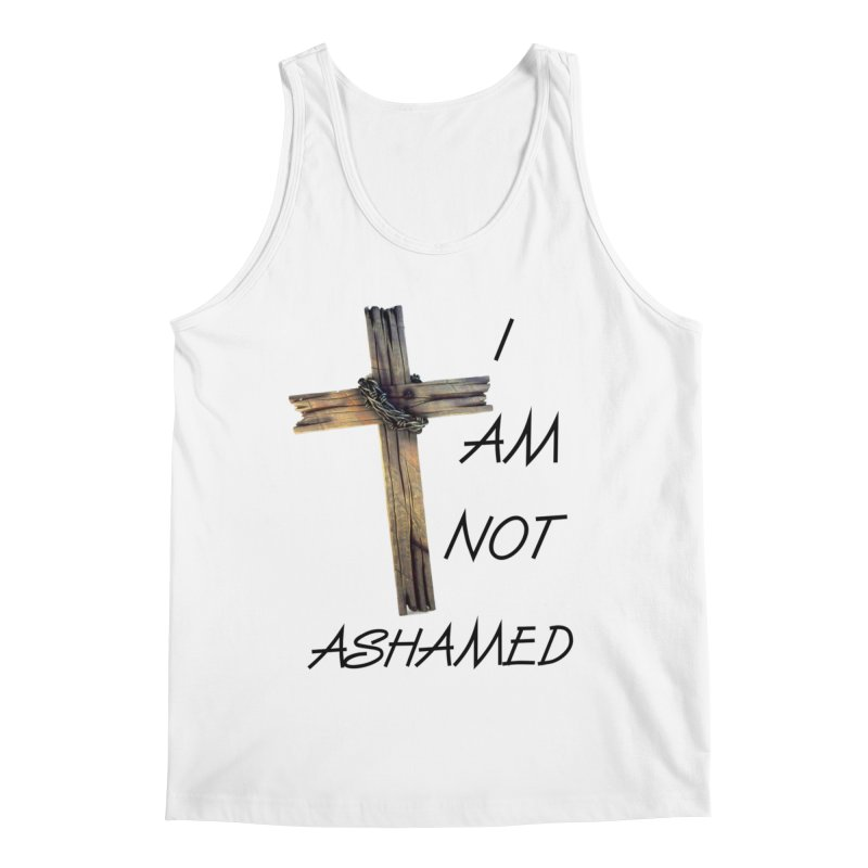 Not Ashamed Men's Tank by theclearword's Artist Shop