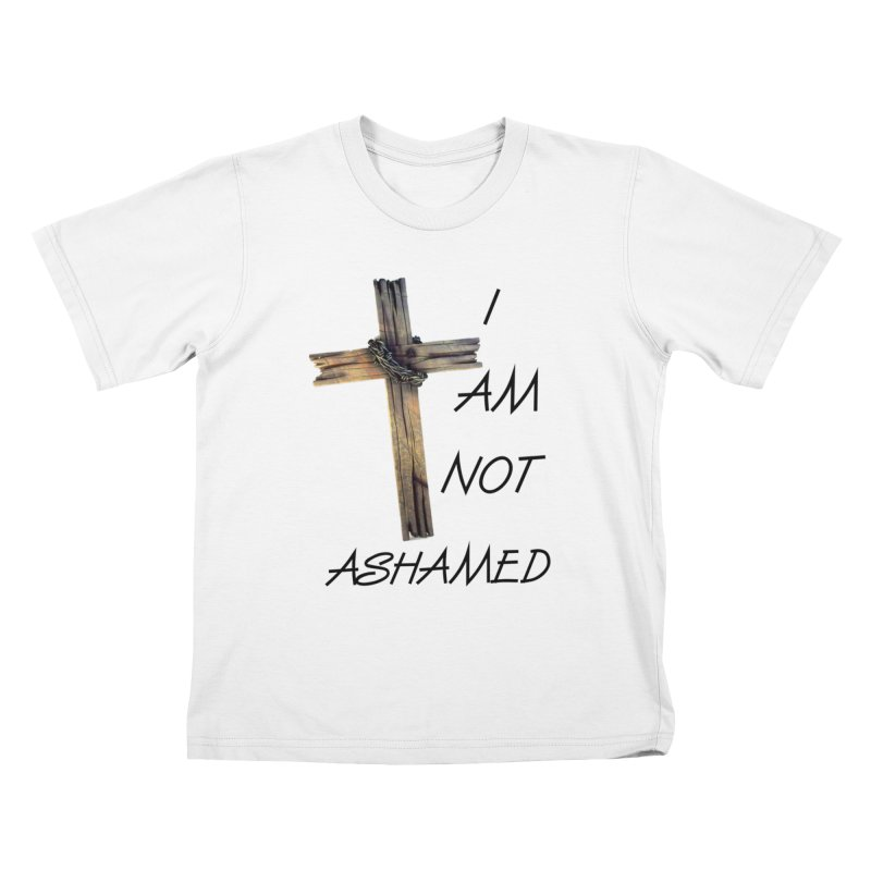 Not Ashamed Kids T-Shirt by theclearword's Artist Shop
