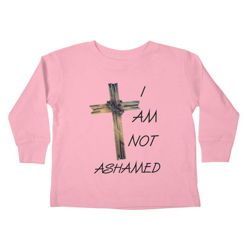 Not Ashamed Kids Toddler Longsleeve T-Shirt by theclearword's Artist Shop