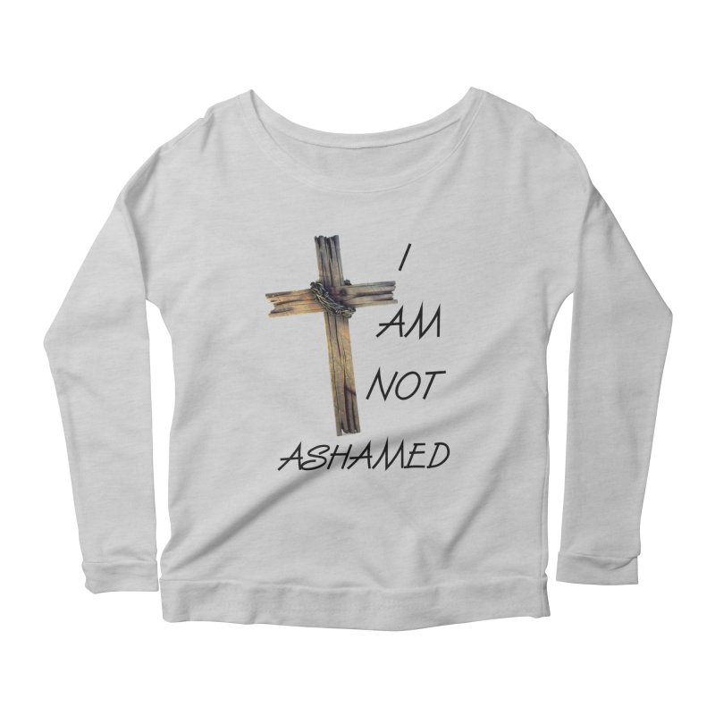 Not Ashamed Women's Scoop Neck Longsleeve T-Shirt by theclearword's Artist Shop