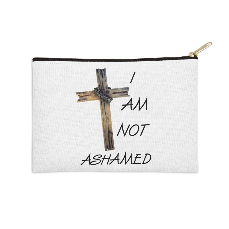 Not Ashamed Accessories Zip Pouch by theclearword's Artist Shop