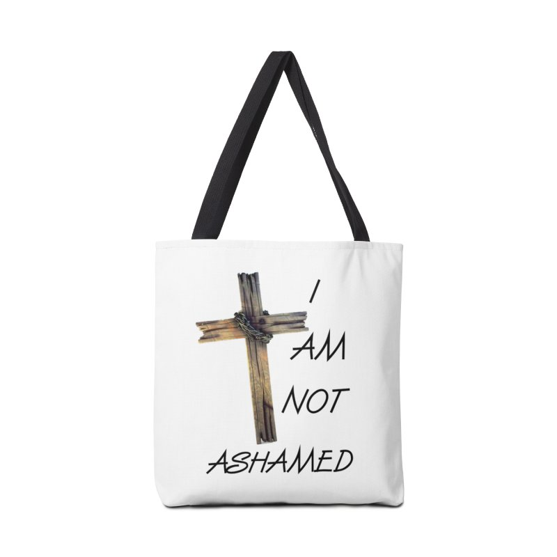 Not Ashamed Accessories Bag by theclearword's Artist Shop