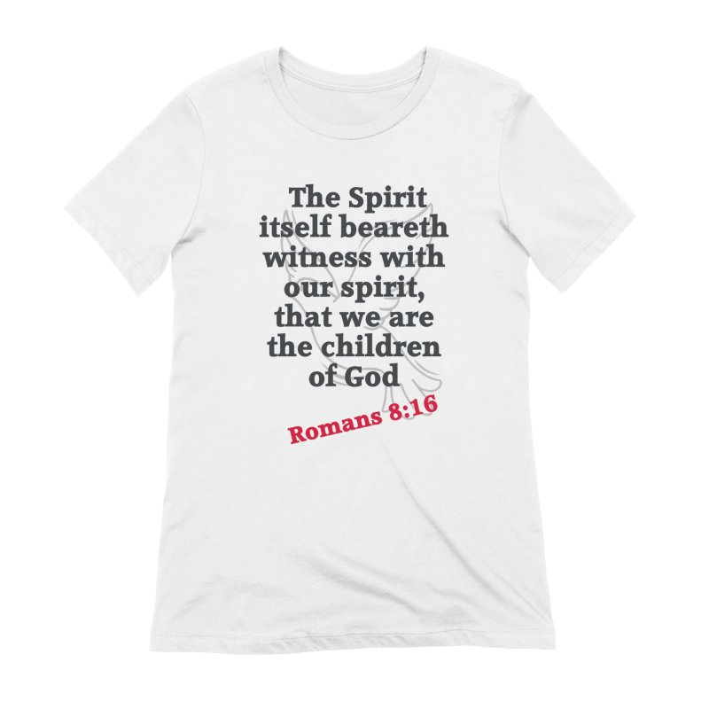 Spirit Witness Women's T-Shirt by theclearword's Artist Shop